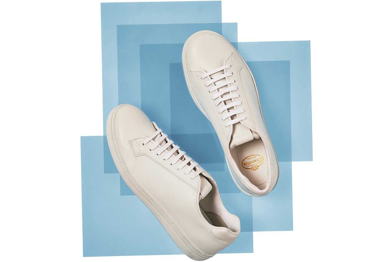 White Boland Sneakers