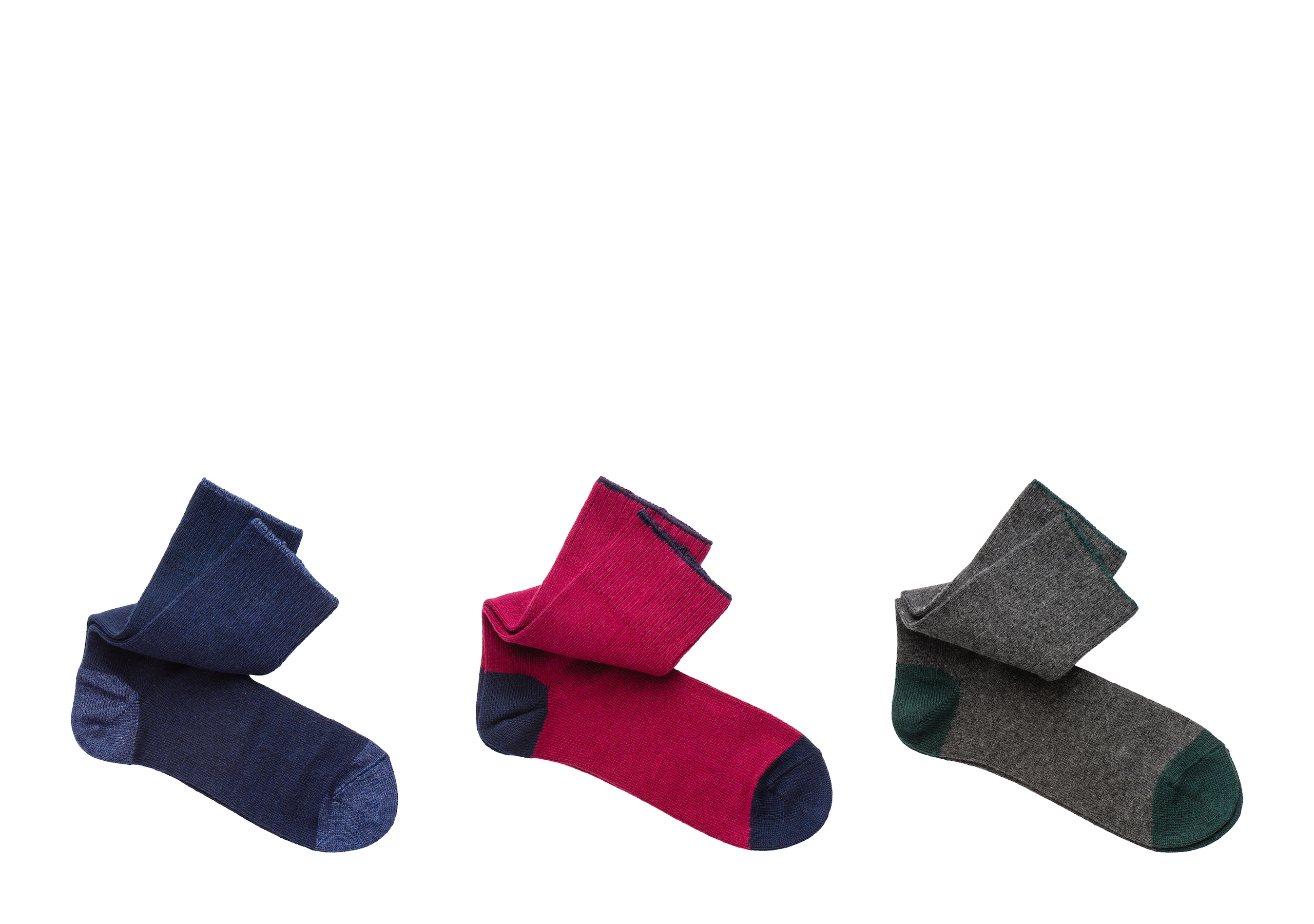 Three-pack socks Church's Cashmere Short Green