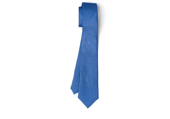 Church's Chain print tie Printed Silk Twill