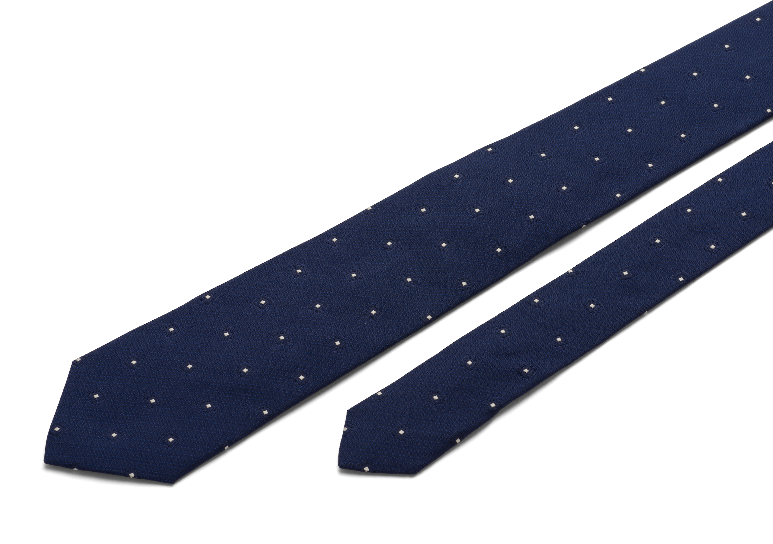 Diamond motif tie Church's Diamond Motif Tie Blue