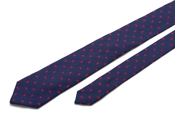 Church's Paisley Paisley Tie Red
