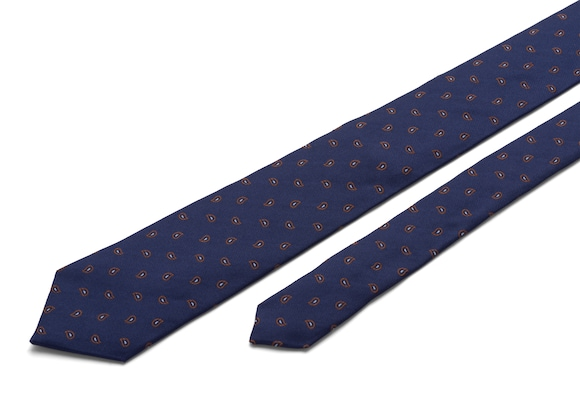 Church's Paisley Paisley Tie Brown