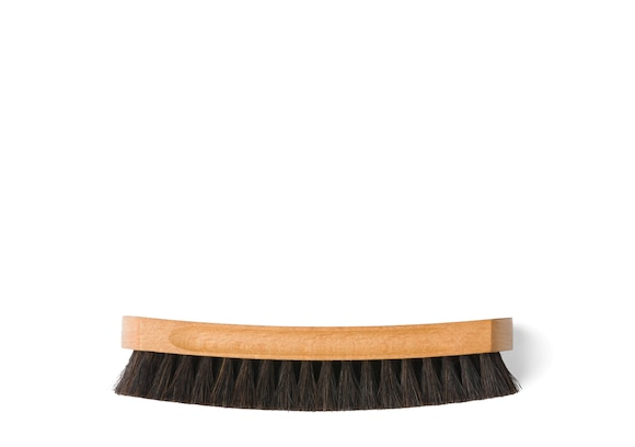 Church's Leather buffer brush Horsehair Brush Large Black