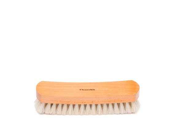 Church's Leather buffer brush Horsehair Brush Large Grey