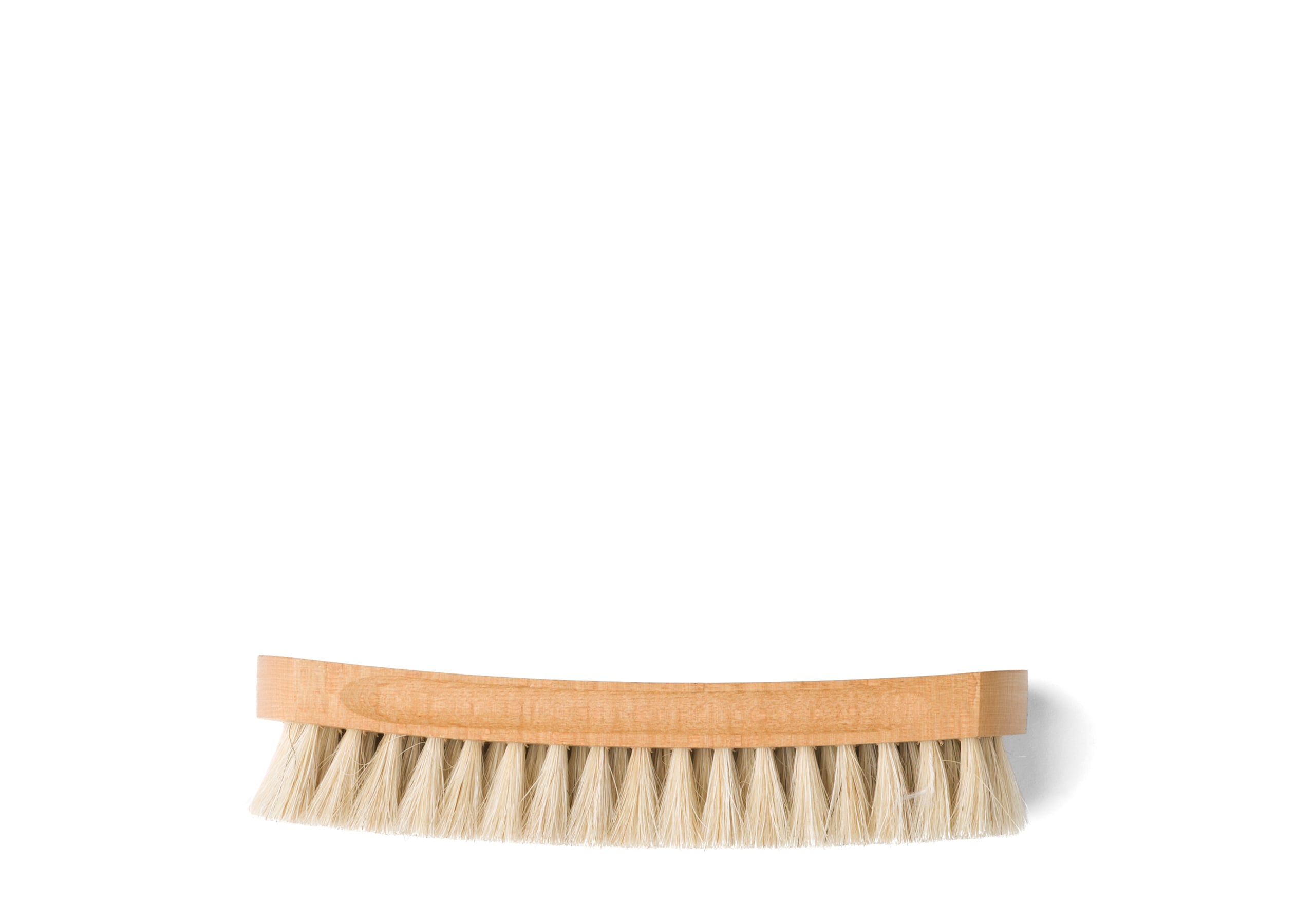 Leather buffer brush Church's Horsehair Brush Large Grey