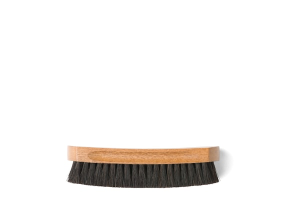 Church's Leather upper brush Horsehair Brush Small Black