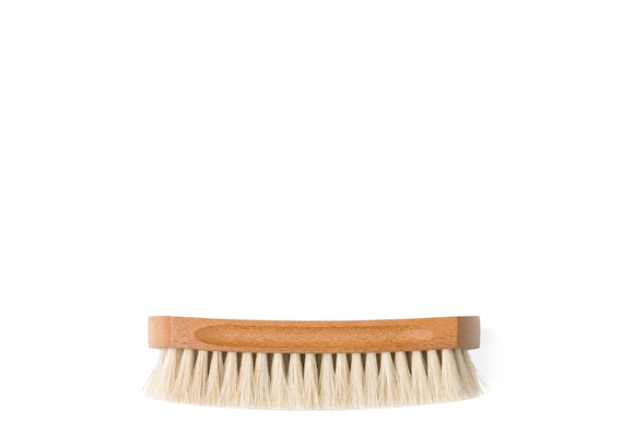 Church's Leather upper brush Horsehair Brush Small Grey