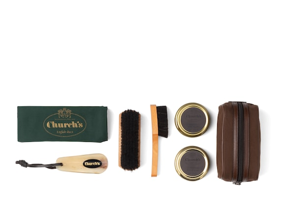 Church's Travel shoe care kit Leather Essential Shoe Cleaning Kit Neutral