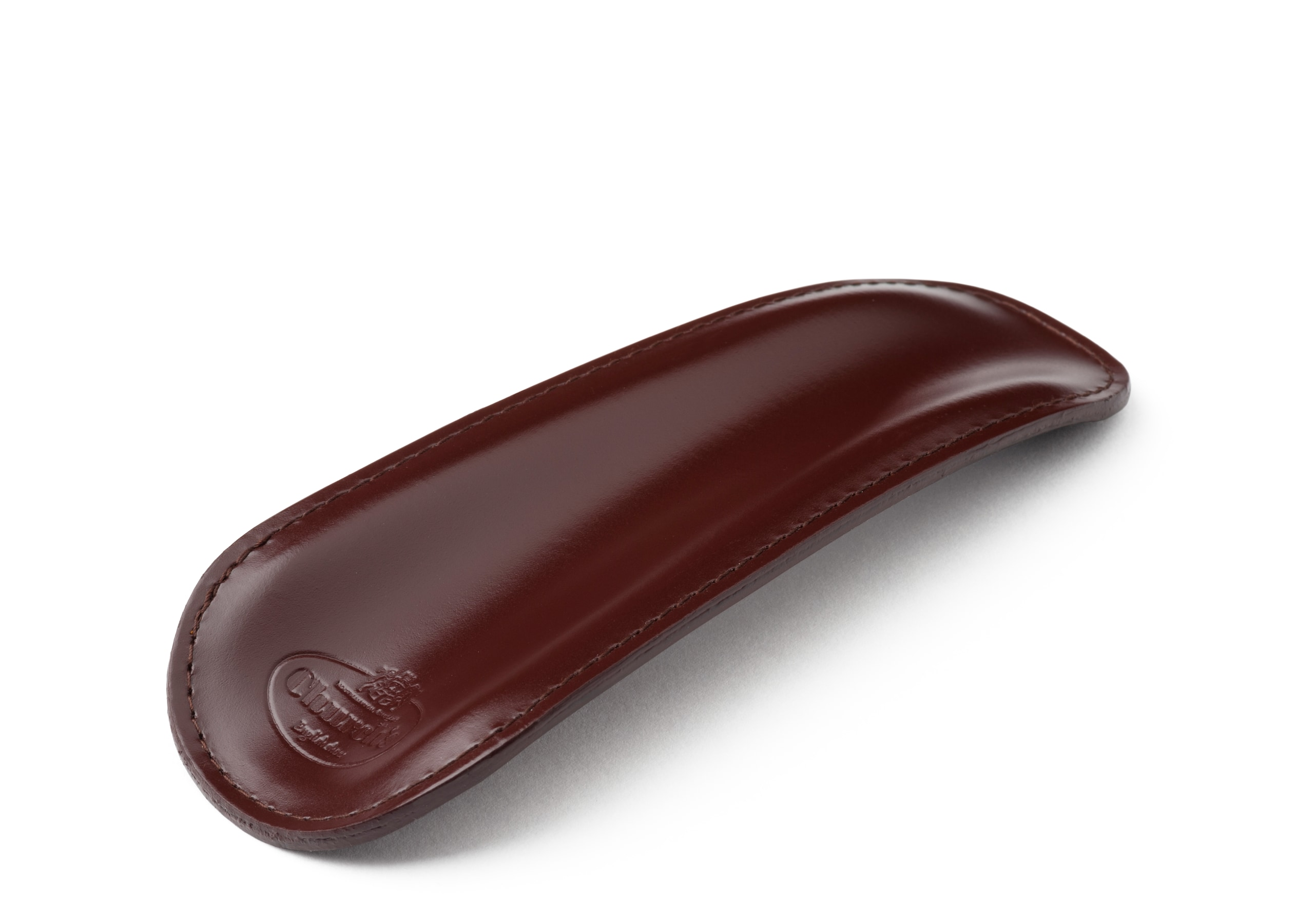 Small shoe horn Church's Calf Leather Shoe Horn 13 Brown