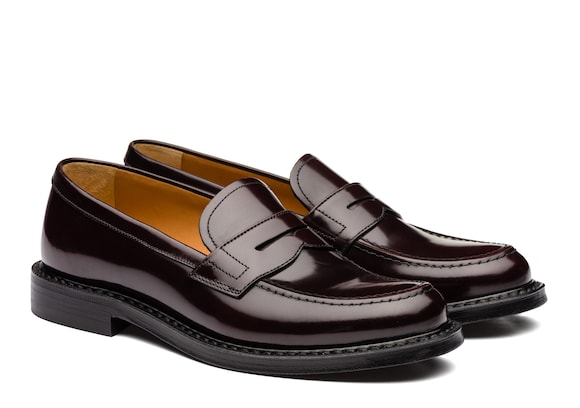 Church's Staden w Polished Binder Loafer Burgundy