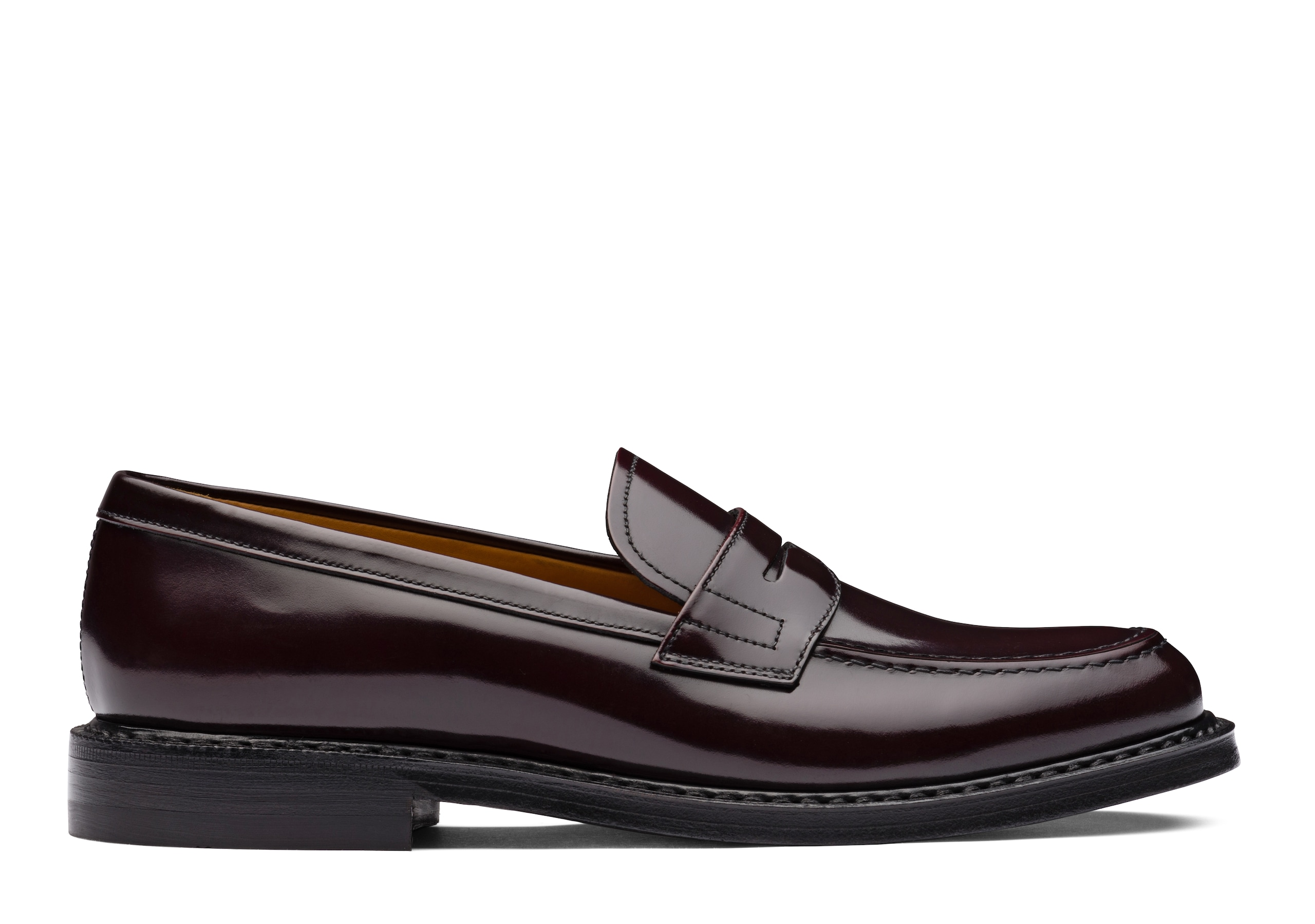 Staden w Church's Polished Binder Loafer Burgundy