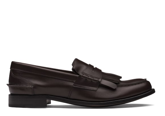 Church's Odessa Prestige Calf Penny Loafer with Fringe Brown