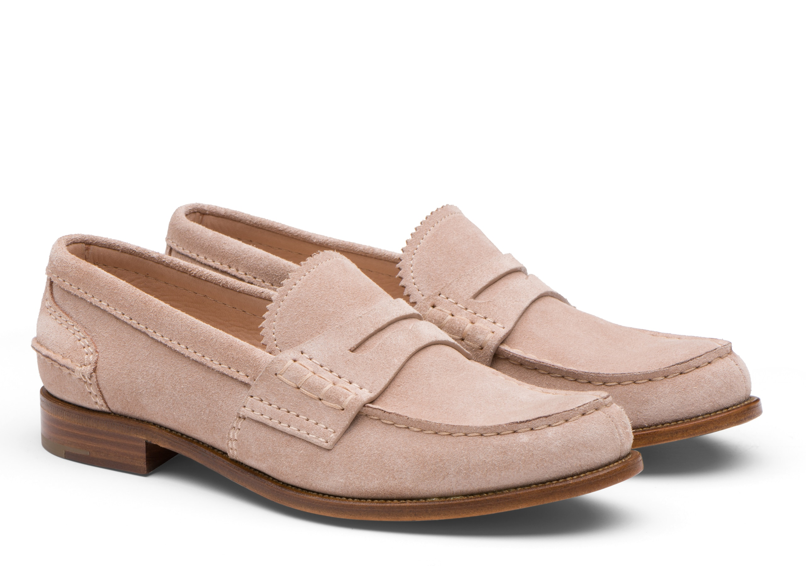 Pembrey 2w Church's Suede Loafer Neutral