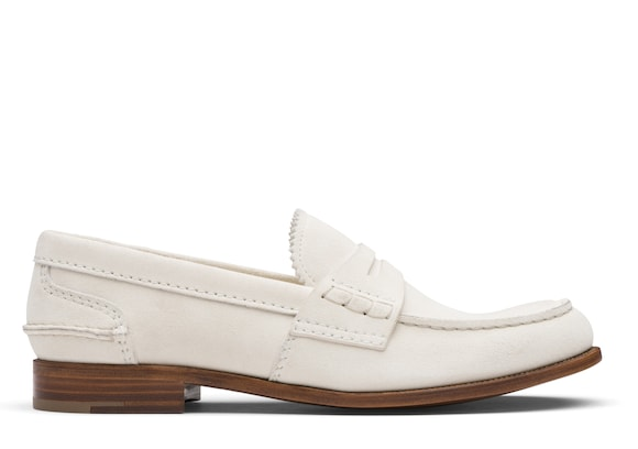 Church's true Suede Loafer White