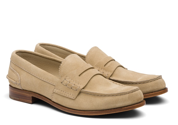 Church's  Suede Loafer Sand
