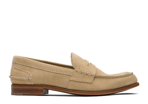 Church's true Suede Loafer Sand