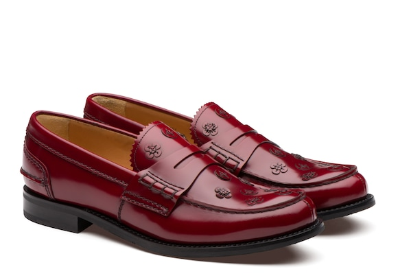 Church's true Polished Binder Loafer Appliqué Ruby