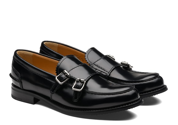 Church's  Polished Fumè Monk Loafer Black