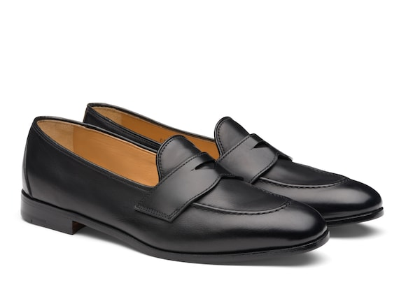 Church's Dundridge w Suede Loafer Black