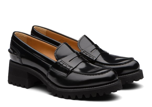 Church's true Polished Fumè Loafer Black