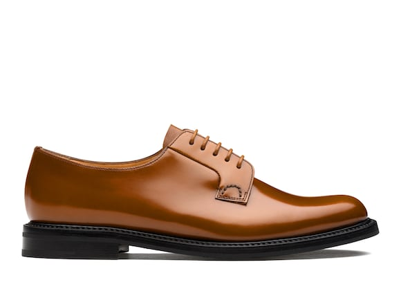 Church's Shannon 2 wr Derby en cuir verni Sandalwood