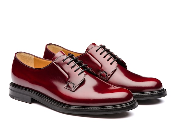 Church's Shannon 2 wr Derby en cuir verni Cherry