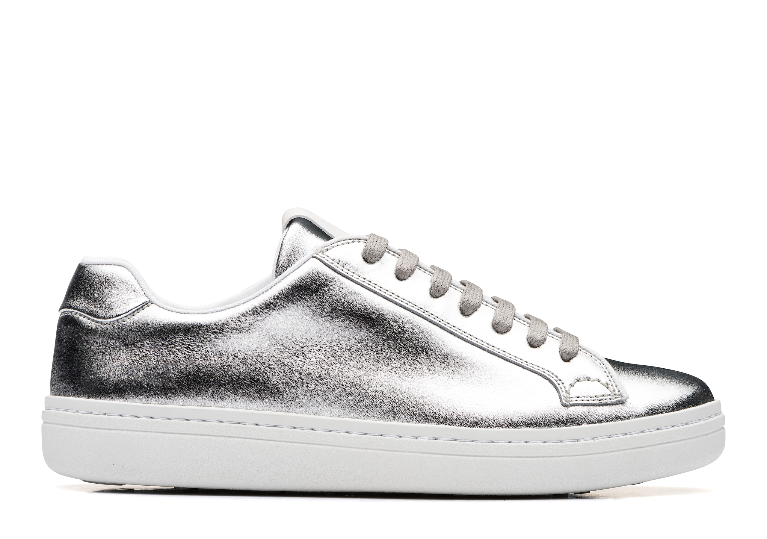 Mirfield w Church's Calf Leather Classic Sneaker Gold/silver