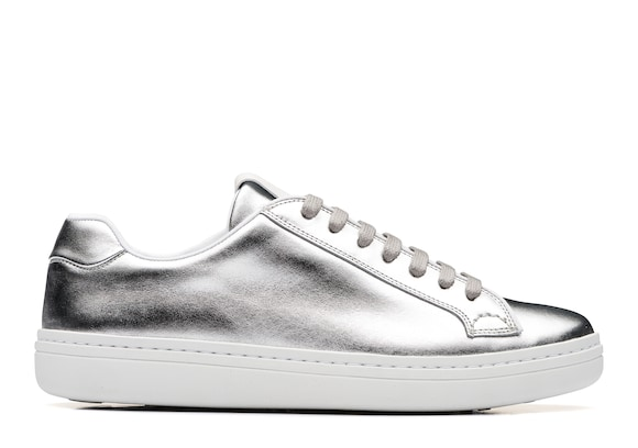 Church's true Calf Leather Classic Sneaker Silver