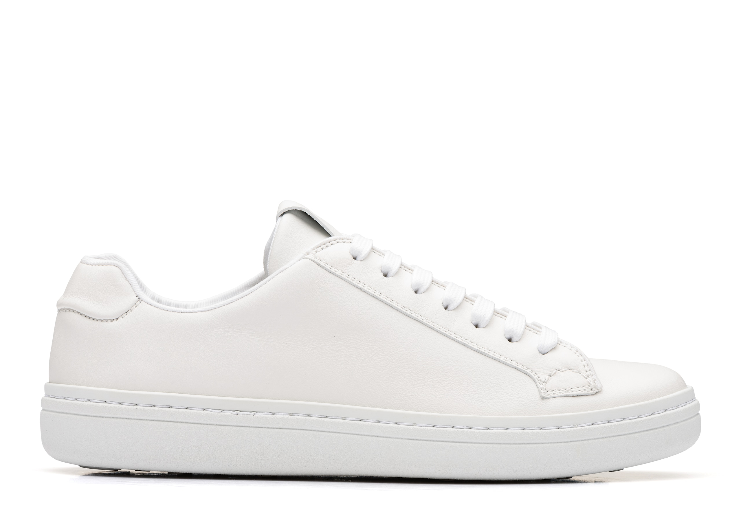 Mirfield w Church's Calf Leather Classic Sneaker White