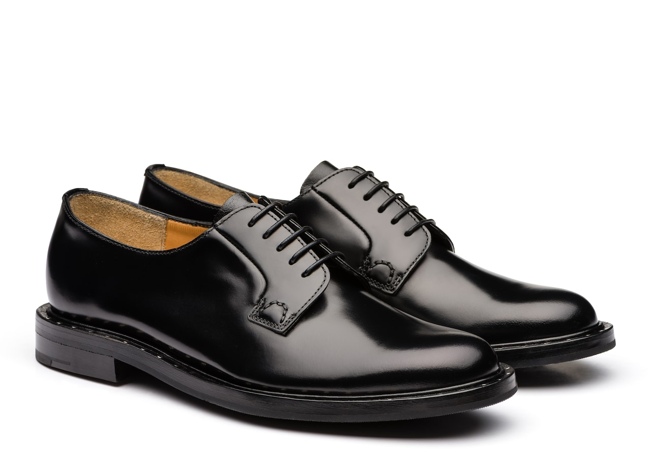 Rebecca Church's Rois Calf Leather Derby Black