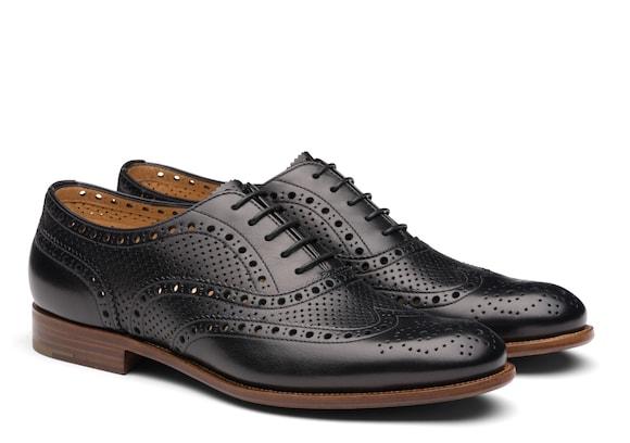 Church's Burwood 7w Leather Oxfords Black