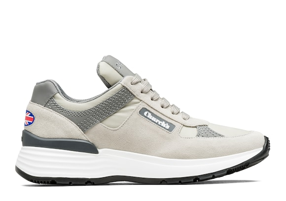 Church's true Sneaker Rétro Tecnica in Pelle Scamosciata Grigio
