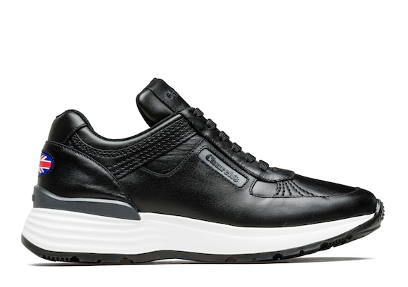 Church's Ch873 Sneaker Rétro in Pelle di Vitello Plume Nero