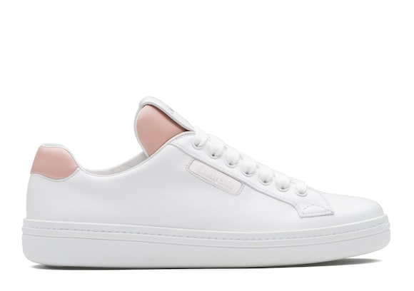 Church's true Sneaker in Pelle di Vitello Bianco & rosa