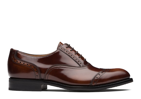 Church's true Polished Fumè Oxford Brogue Tabac