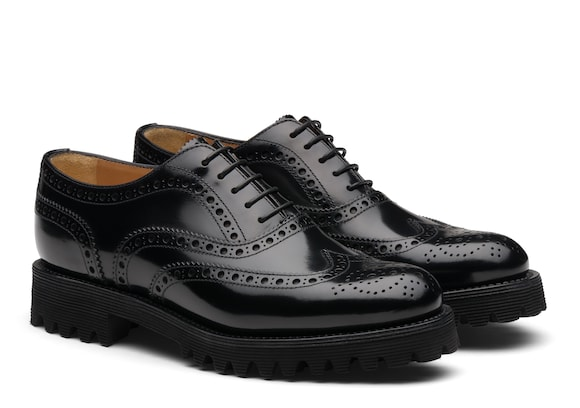 Church's Carla Polished Binder Oxford Brogue Black