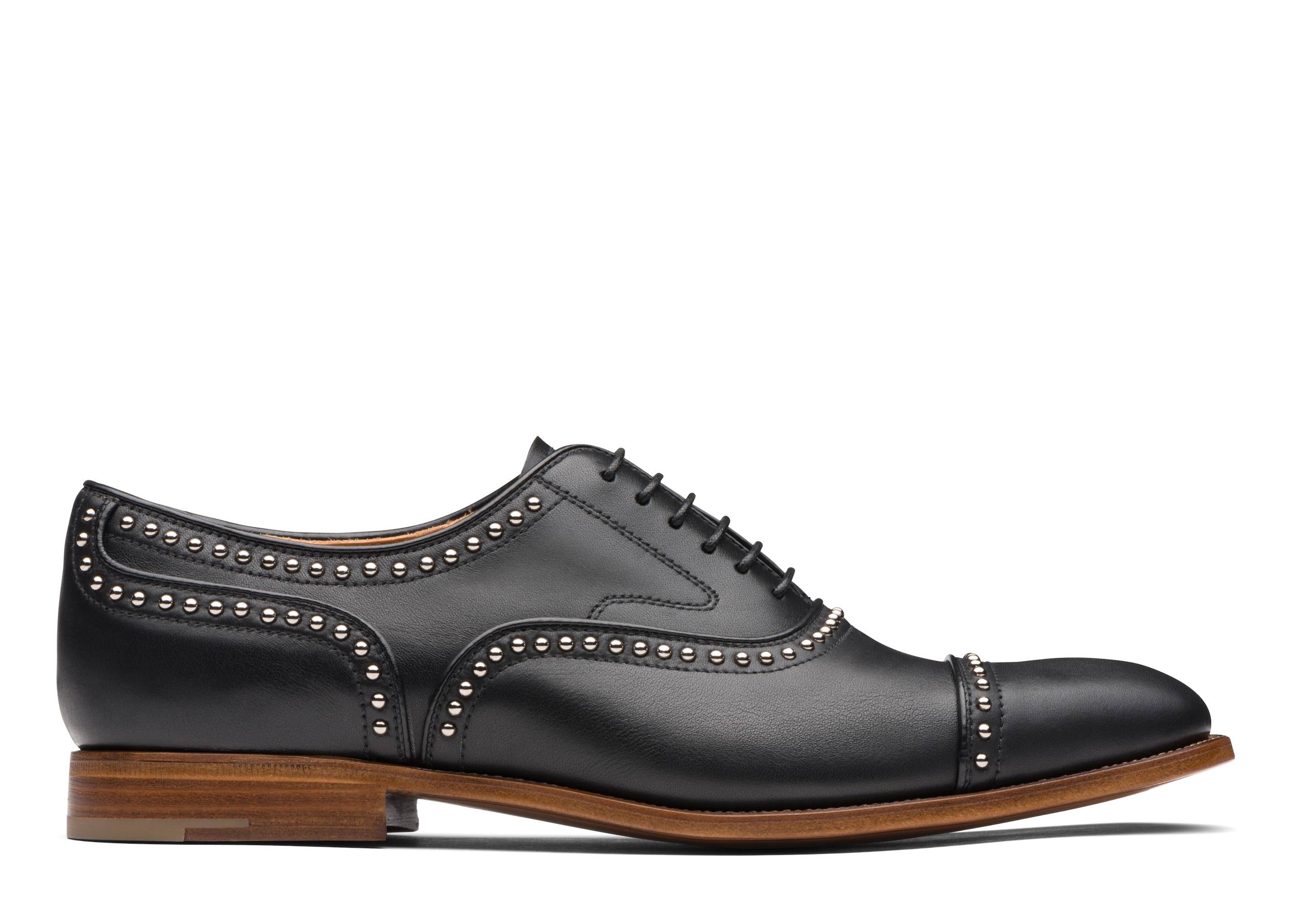 Church's Calf Leather Oxford Stud Black