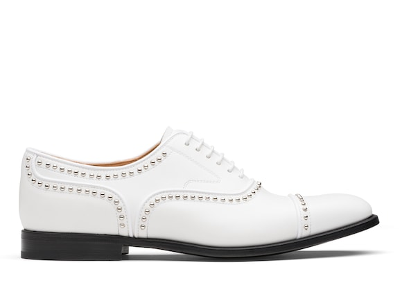 Church's true Calf Leather Oxford Stud White