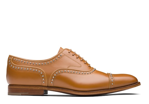 Church's  Calf Leather Oxford Stud Natural