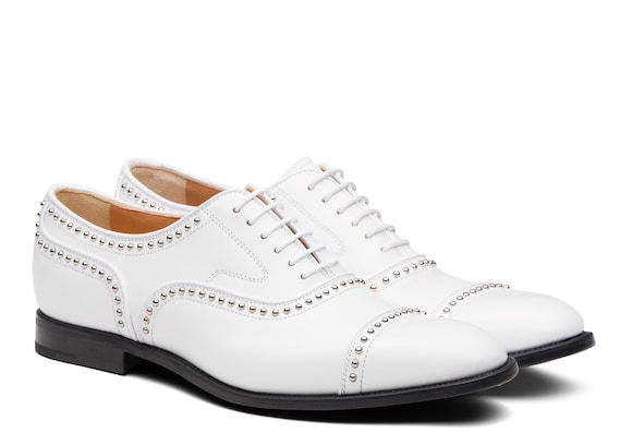 Church's Anna met. 2 Polished Binder Oxford Stud White