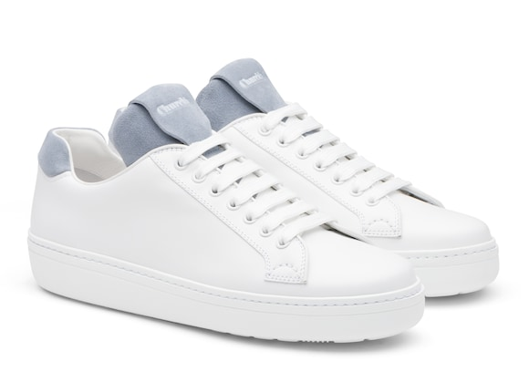 Church's  Calf Leather and Suede Classic Sneaker White/opaline