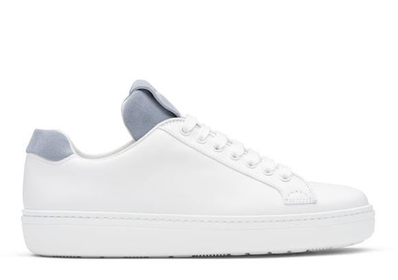 Church's Boland Calf Leather and Suede Classic Sneaker White/opaline
