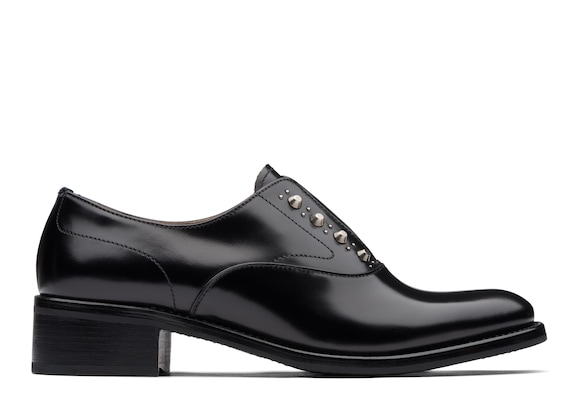 Church's true Rois Calf Heeled Sip On Stud Black