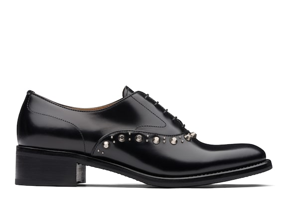 Church's Deva Oxford in Pelle di Vitello Rois con Tacco Nero