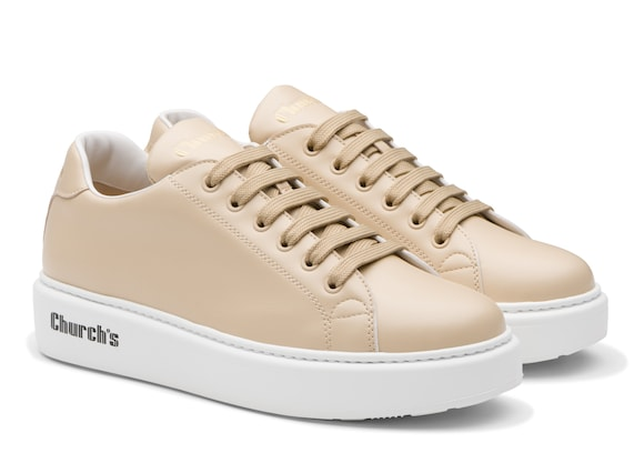 Church's Mach 1 Calf Leather Classic Sneaker Soft pink/white