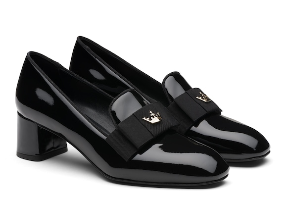 Church's  Patent Heeled Loafer Black