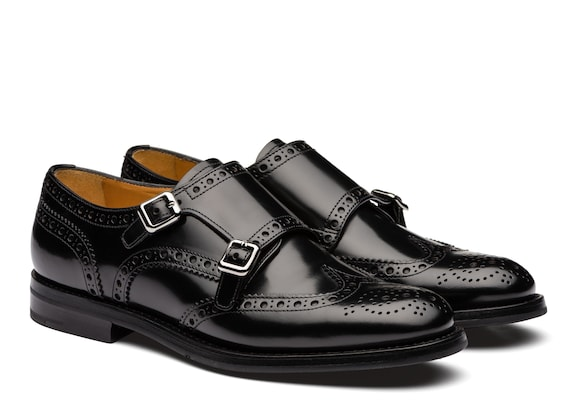 Church's Lana r Polished Binder Monk Brogue Black