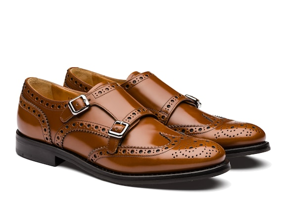 Church's true Polished Binder Monk Brogue Sandalwood