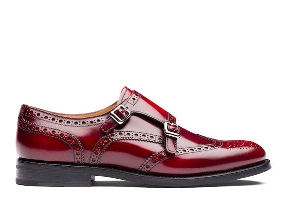 Church's Lana r Polished Binder Monk Brogue Cherry
