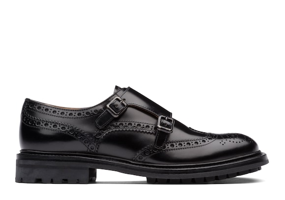 Church's true Rois Calf Leather Monk Brogue Black